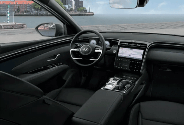 Hyundai Tucson 1.6 TGDI PHEV Maxx Auto 4x4 tablero | Total Renting