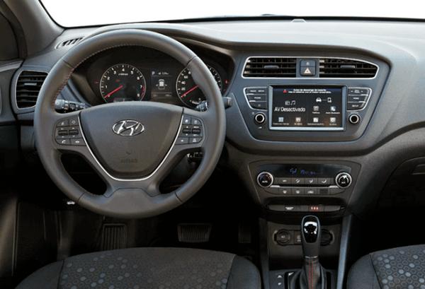 Hyundai i20 1.0 TGDi 100cv Klass tablero   Total Renting