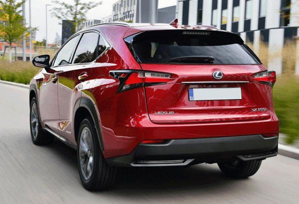 Lexus NX 300H 4X2 Premium atras   Total Renting