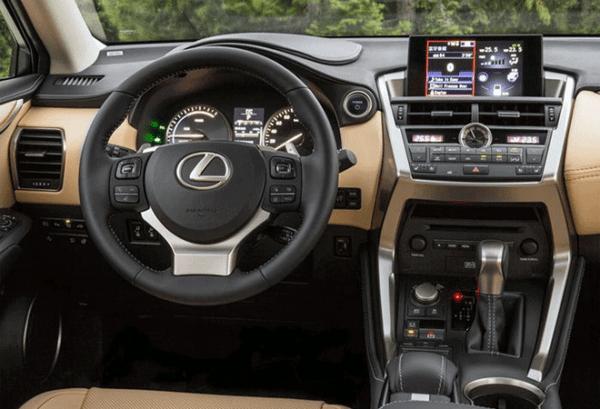 Lexus NX 300H 4X2 Premium tablero   Total Renting