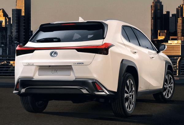Lexus UX 250H 4X2 Premium atras | Total Renting