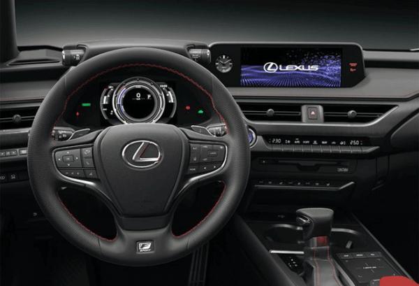 Lexus UX 250H 4X2 Premium tablero | Total Renting