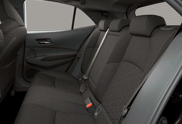 Toyota Corolla 125H Active Tech interior | Total Renting