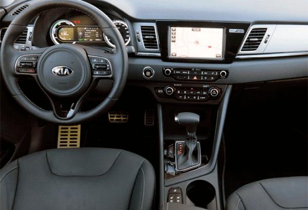 Kia Niro fl 1.6 HEV Drive tablero | Total Renting
