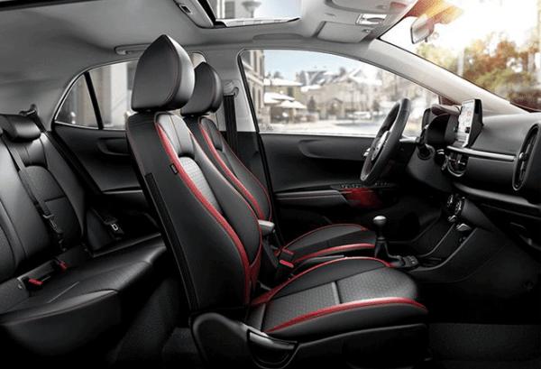Kia Picanto 1.0 CPi Concept Eco Dynamics interior | Total Renting
